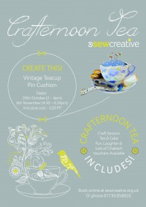 Crafternoon Tea Poster